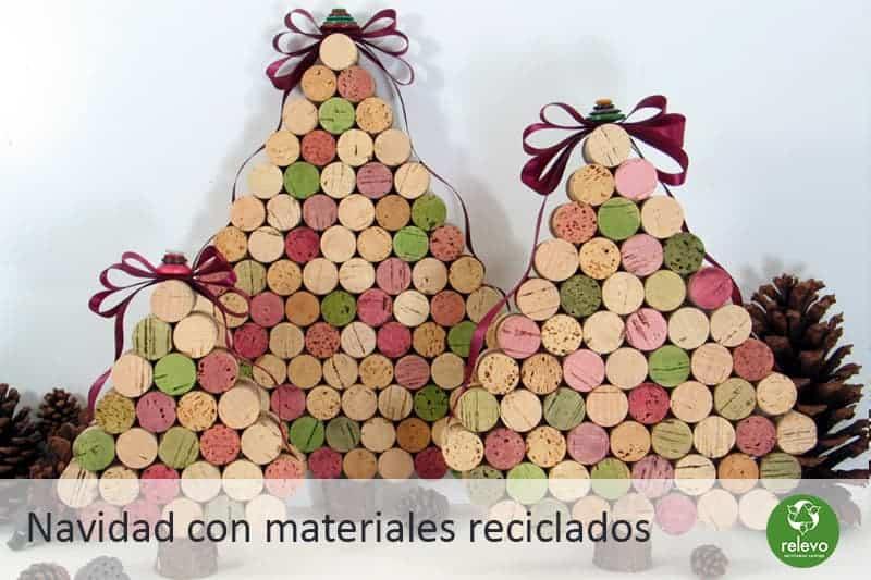 Decoración De Navidad Con Materiales Reciclados Bolsas De